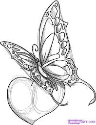 tribal butterfly drawing sle tattoomagz