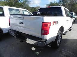 2018 ford f150 lariat 5 miles white platinum crew cab pickup