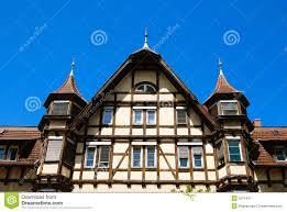 traditional medieval german house stock image image 5214437