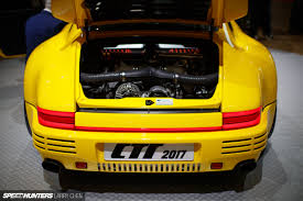 porsche ruf ctr 2017 performance overload at geneva speedhunters