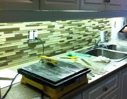 Green Tile Kitchen Backsplash Blue Green Glass Tile Kitchen Backsplash Muthukumaran Me