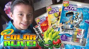 crayola color alive bring coloring skylanders