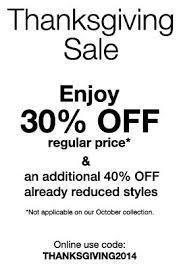 mexx thanksgiving sale 30 regular price items 40