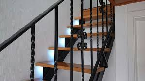 Interior Stair Lights Stair Lighting With Motion Detection And Following Lights 7 Steps