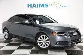 audi a4 used 2012 used audi a4 4dr sedan cvt fronttrak 2 0t premium at haims