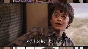 Harry Potter Trolley Meme - greedy little cunt imgur