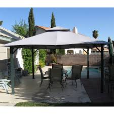 Patio Gazebo Replacement Covers by Home Depot Gazebo Replacement Canopy Cover Garden Winds
