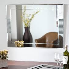 Frameless Bathroom Mirror Large Décor Wonderland Frameless Beveled Karnia Mirror 23 6w X 31 5h