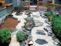 Garden Space Ideas Small Backyard Rock Gardens Gardens Ideas Rock Garden Ideas For