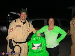Ghostbusters Halloween Costume Ghostbusters Slimer Group Halloween Costume Idea Photo 3 3