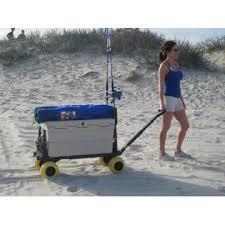 Rolling Beach Chair Cart Plus One Po600b Y Beach Cart Wagon Rolling 4 Wheel Wheeled Trolley
