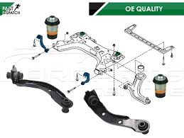 nissan note 2005 for nissan note 2005 front subframe mount mounting 2 links arm