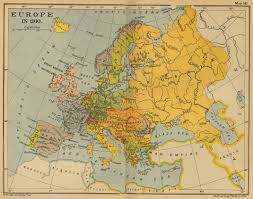 Map Of Europe 1920 by Maps