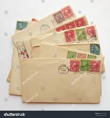 pile letters envelopes post sts stock photo 525737578