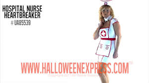 women u0027s nurse costume ua85539 youtube