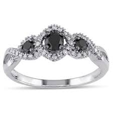 black and white engagement rings black engagement rings shop the best deals for dec 2017
