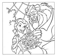 princess belle beauty beast coloring pages learn coloring