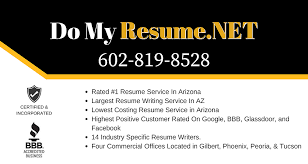 resume writing ranked 1 resume writing service in arizona do my resume net
