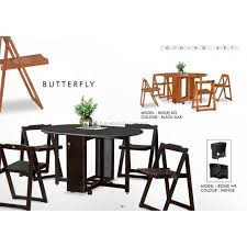 Butterfly Folding Table And Chairs Folding Dining Table Dining Tables Folding Furniture Folding
