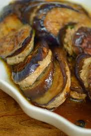 chinese stuffed eggplant 煎釀茄子 dimsumptuous