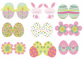 Easter Decorations Cakes by Easter Printables
