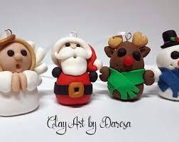 clay ornaments etsy