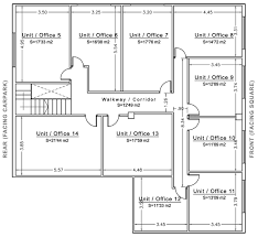 Commercial Office Floor Plans Commercial Office Floor Plans With Dimensions Ground Floor First