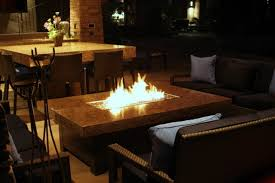 large fire pit table large balboa fire pit table mediterranean patio san diego by