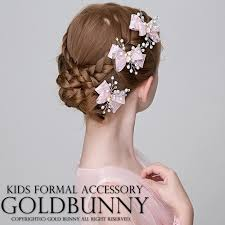 hair accessories for kids dress shop goldbunny rakuten global market shining pearl and