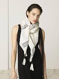 by malene birger by malene birger zurisa scarf in soft white varga girl