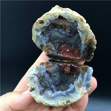 geode engagement ring box imagine walking along the beach collecting rocks together and then