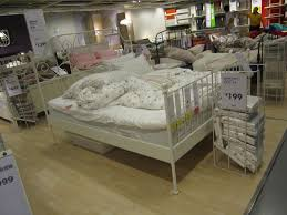 ikea white metal bed frame 2015 affordable ikea white metal bed