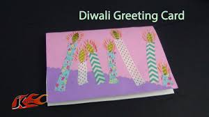diy easy diwali greeting card projects for kids how