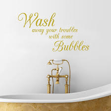 wall art bathroom promotion shop for promotional wall art bathroom bathroom wall stickers wash away your troubles waterproof removable vinyl wall art decals decorative bathroom decor
