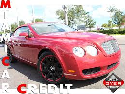 bentley car pink 2007 used bentley continental gtc base at miami car credit llc