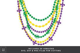 mardi gras beaded necklaces 30 mardi grads svg bead necklace svg mardi gras svg