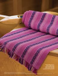 best of handwoven technicolor table runners 12 projects on four