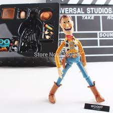 Revoltech Woody Meme - creepy woody doll set as seen in popular internet meme toy story
