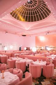 sketch for tea pink room mayfair london and sketches