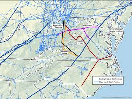 Atlantic Coast Map What U0027s Coming Down The Natural Gas Pipeline U2013 Appalachian Voices