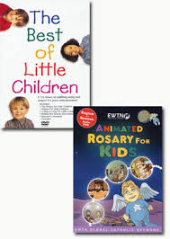 rosary for kids animated rosary best of children set of 2 dvd catholic