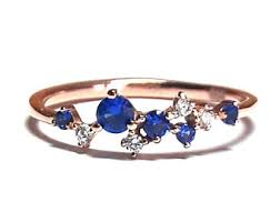 saphire rings sapphire ring gold etsy