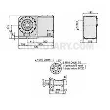 tsudakoma rotary table manual rna 201r vertical horizontal cnc rotary table