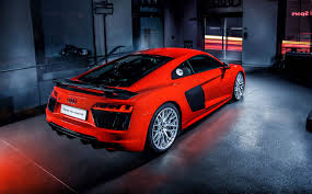 audi supercar the new audi r8 supercar is under starters orders luxurious magazine