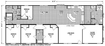5 bedroom floor plans sectional mobile home floor plan the 6806 view select