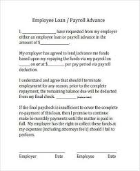 sample employee loan agreements 9 free documents in word pdf