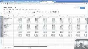 resume templates google sheets budget budget template google sheets template idea
