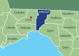 Map Of North Florida Counties Doing Business In North Florida Jefferson County Edc