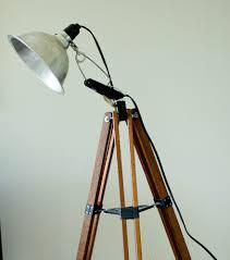 coolest lamps diy tripod floor lamp savvy apron