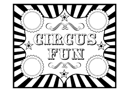free circus birthday party printables printabelle catch